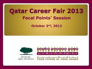 Qatar Career Fair 2013