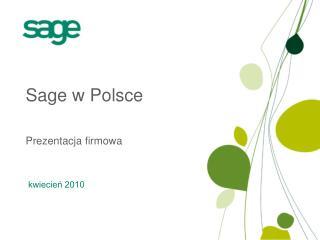Sage w Polsce