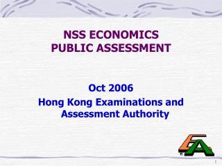 NSS ECONOMICS  PUBLIC ASSESSMENT