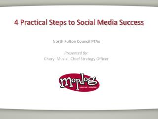 4 Practical Steps to Social Media Success