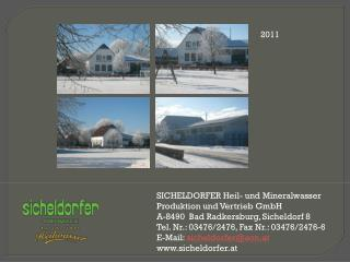 SICHELDORFER Heil- und Mineralwasser Produktion und Vertrieb GmbH