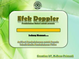 Efek  Doppler Pendalaman Materi untuk pemula