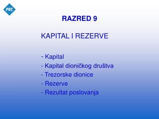 RAZRED 9