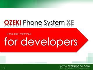 OZEKI Phone System XE