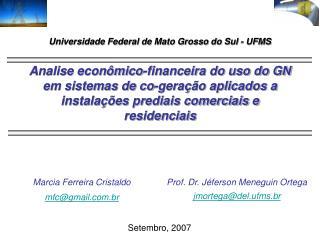 Marcia Ferreira Cristaldo mfc@gmail.br