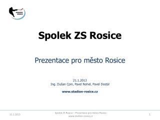 Spolek ZS Rosice