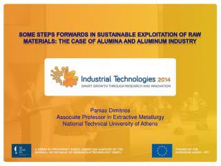 Panias Dimitrios Associate Professor in Extractive Metallurgy