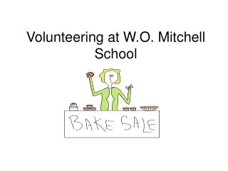 Volunteering at W.O. Mitchell School