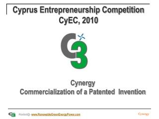 Cyprus Entrepreneurship Competition CyEC, 2010