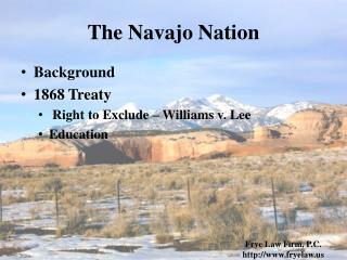 The Navajo Nation