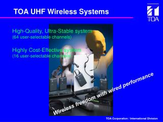 TOA UHF Wireless Systems