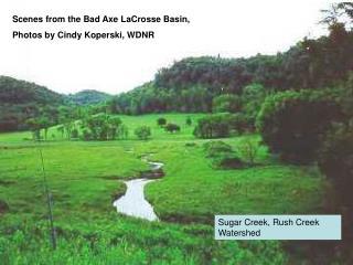 Sugar Creek, Rush Creek Watershed