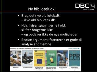 Ny bibliotek.dk