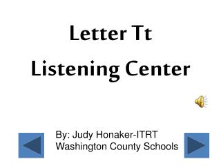 By: Judy Honaker-ITRT Washington County Schools