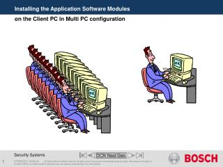 Installing the Application Software Modules