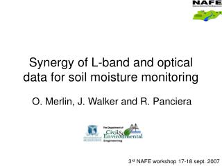 Synergy of L-band and optical data for soil moisture monitoring