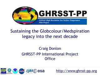 Sustaining the Globcolour/Medspiration legacy into the next decade