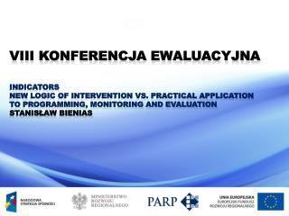 VIII Konferencja Ewaluacyjna Indicators