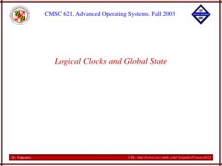 Logical Clocks and Global State