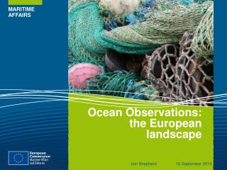 Ocean Observations: the European landscape