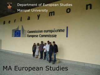 MA European Studies