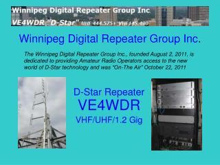 Winnipeg Digital Repeater Group Inc .