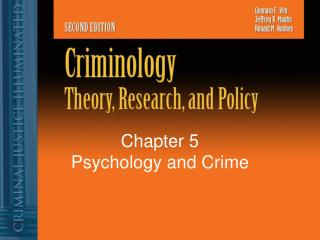 Chapter 5 Psychology and Crime