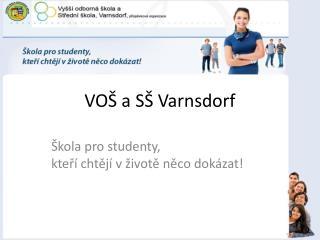 VOŠ a SŠ Varnsdorf