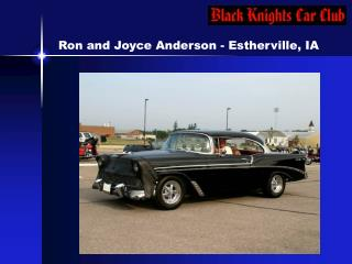 Ron and Joyce Anderson - Estherville, IA