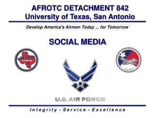 AFROTC DETACHMENT 842 University of Texas, San Antonio