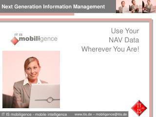 Next Generation Information Management