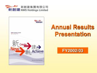 Annual Results Presentation