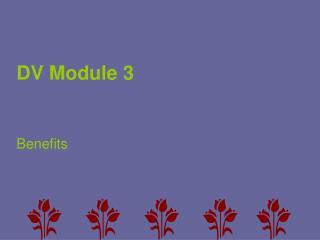 DV Module 3