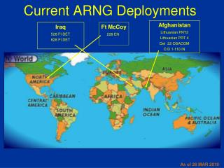 Current ARNG Deployments
