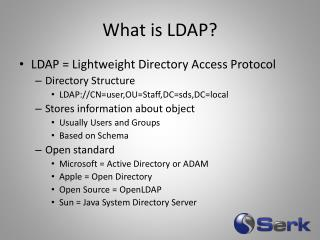 What is LDAP?