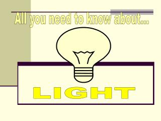 Light has Three Important properties:1. Light travels in straight lines from a light source to your eyes.2. If somethin