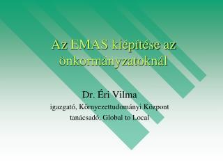 Az  EMAS ki�p�t�se az �nkorm�nyzatokn�l