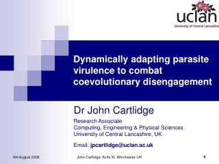 Dynamically adapting parasite virulence to combat coevolutionary disengagement