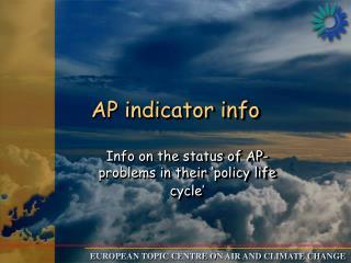 AP indicator info