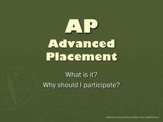 AP Advanced Placement
