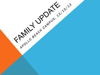 Family update