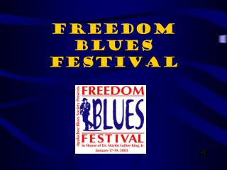 Freedom Blues Festival