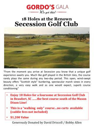 Secession Golf Club