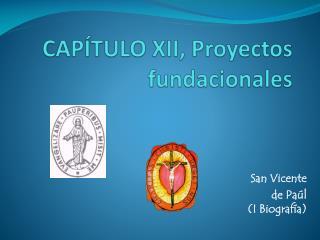 CAPÍTULO XII, Proyectos  fundacionales