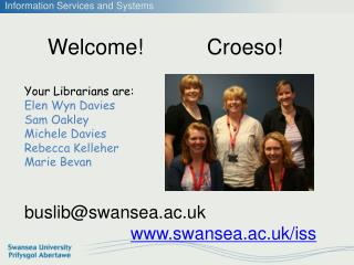 Welcome!  Croeso !