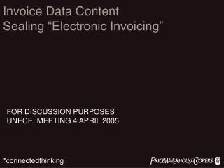 INVOICE DATA CONTENT