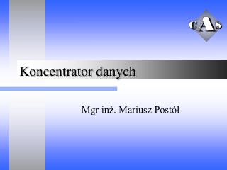 Koncentrator danych