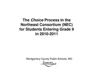 Montgomery County Public Schools, MD