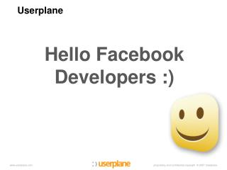 Hello Facebook Developers :)