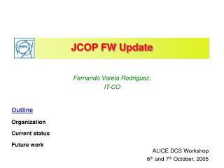 JCOP FW Update